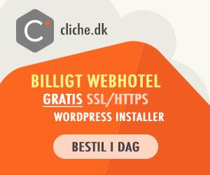 cliche billigt webhotel