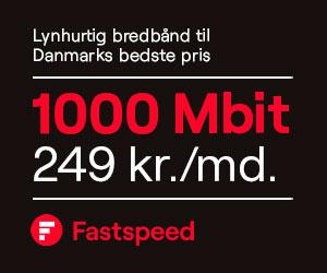 Fastspeed Internet bredbånd - hastighed op til 1000 Mbit - Hurtigt og stabilt bredbånd til lav pris.