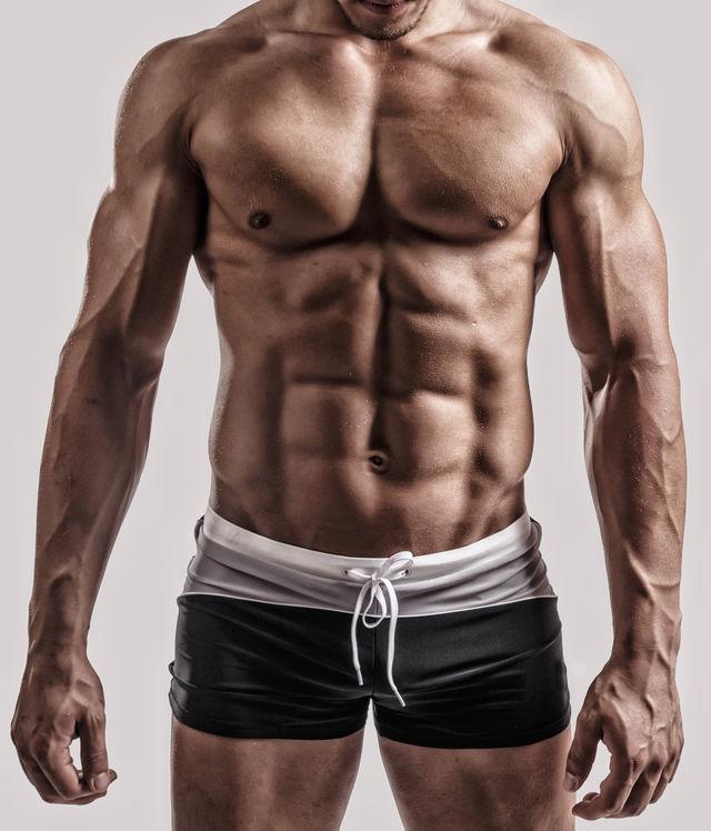 Træning af kroppen og få muskler