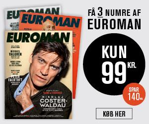 euroman 3 blade for 99 kr