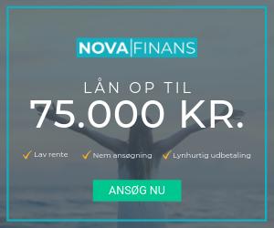 novafinans lån op til 75000 kr lav rente nem ansøgning lynhurtig udbetaling